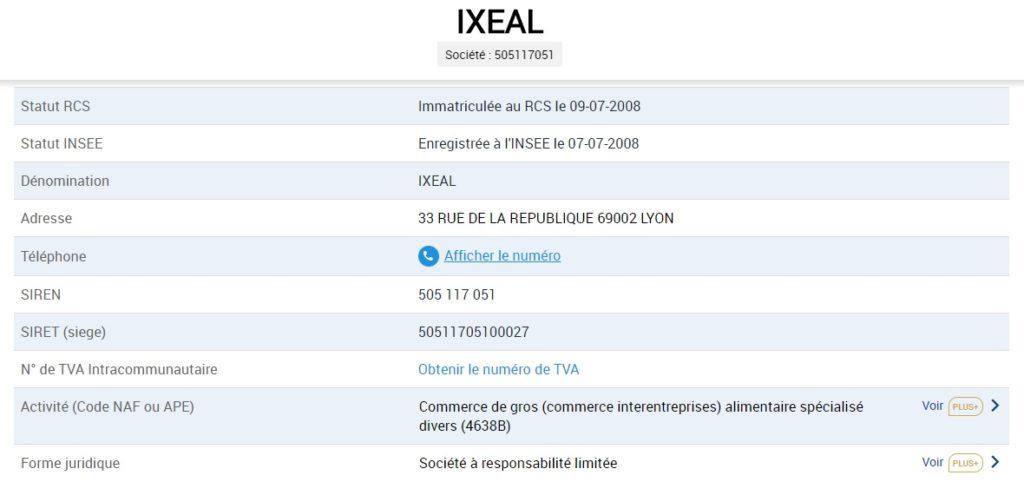 nutrixeal ixeal debut activite entreprise Guillaume Biola